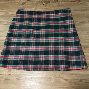 Vineyard Vines Christmas Tartan Plaid Skirt: 2110